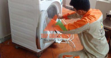 Cách vệ sinh máy giặt lồng ngang tại nhà. Hotline tư vấn: 0988.230.233