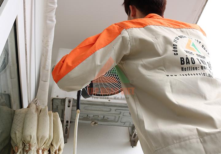 Sửa chữa điều hòa tại quận Cầu Giấy chuyên nghiệp