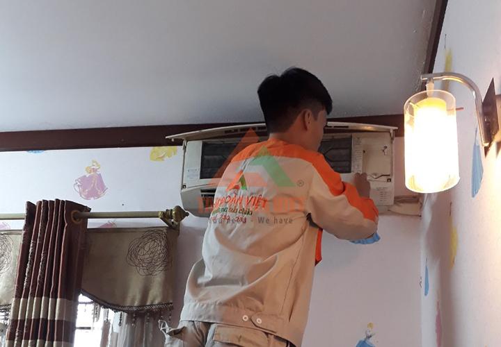 Sửa chữa điều hòa tại nhà Cầu Giấy