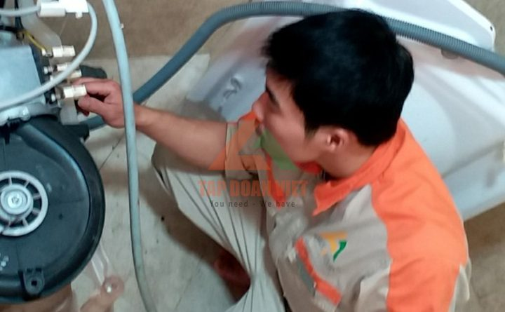 Dịch vụ sửa máy giặt Aqua