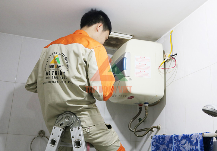 Dịch vụ sửa bình nóng lạnh tại nhà cho khách