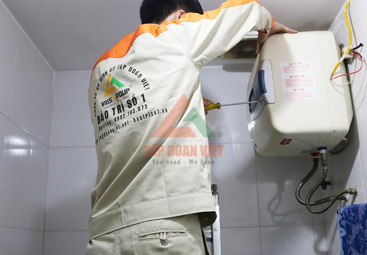 Sửa bình nóng lạnh Hà Nội 12 quận