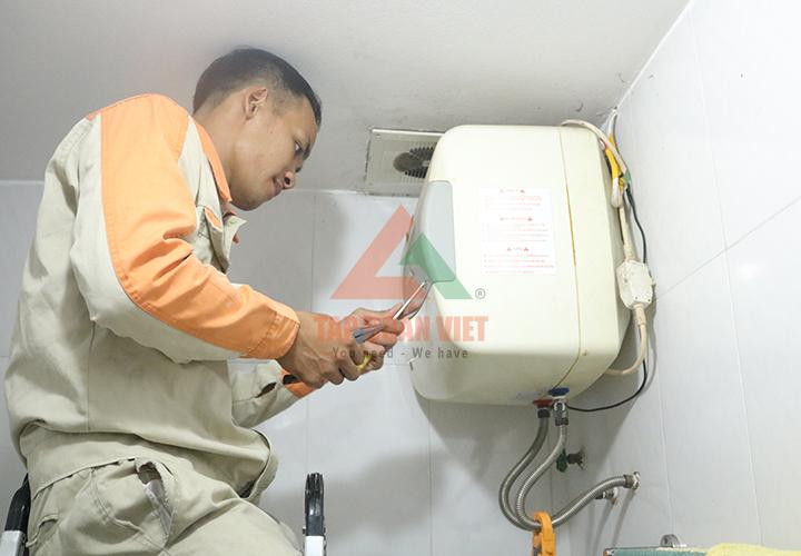 Cách sửa bình nóng lạnh an toàn