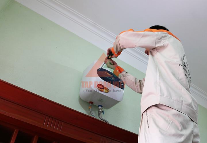 sửa bình nóng lạnh 12 quận tại Hà Nội