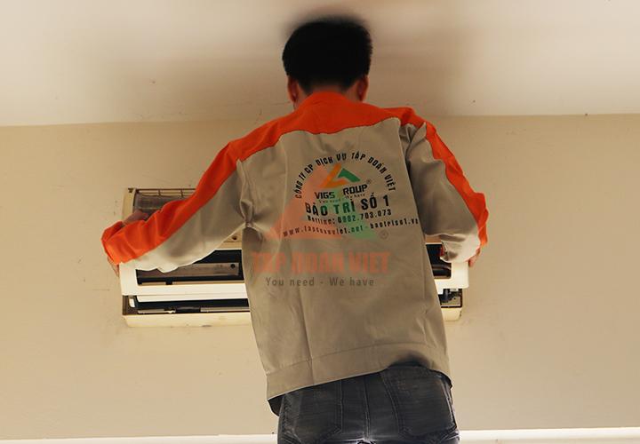 Điện Nhà Thông Minh cam kết dịch vụ sửa chữa điều hòa uy tín