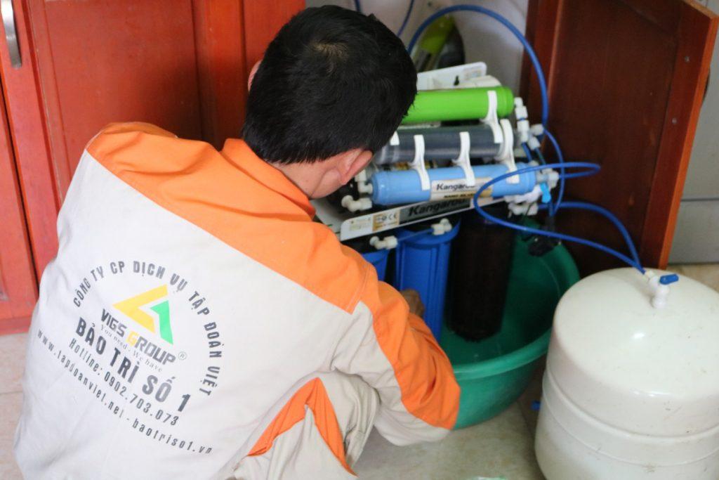 Dịch vụ sửa máy lọc nước không ra nước tại nhà Hà Nội