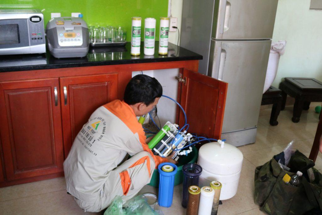 Cách sửa máy lọc nước Karofi