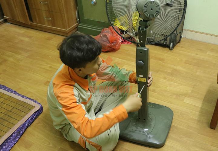 Sửa quạt điện tại nhà uy tín chuyên nghiệp