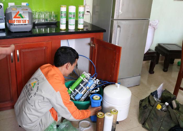 Sửa máy lọc nước Coway triệt để các lỗi