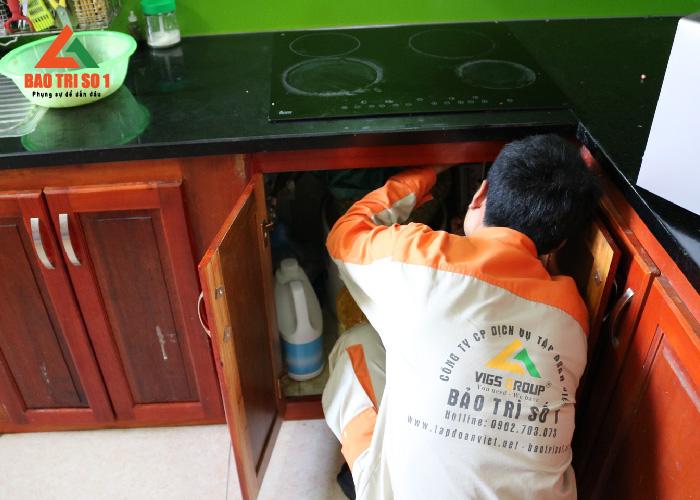 Sửa chữa bếp từ uy tín - Đội ngũ kỹ thuật viên trình độ cao
