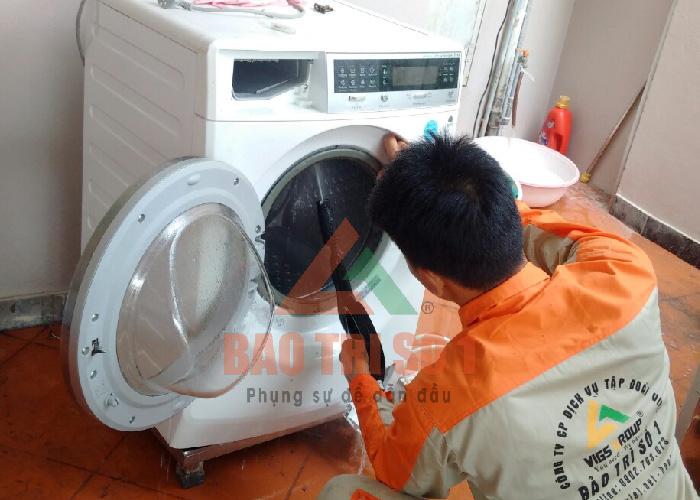 Hướng dẫn dịch vụ sửa máy giặt Sanyo tại nhà