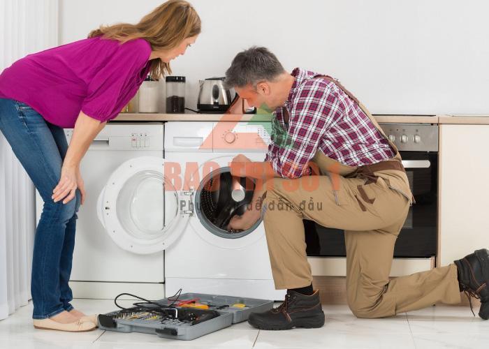 Bật mí dịch vụ sửa máy giặt Toshiba mất nguồn