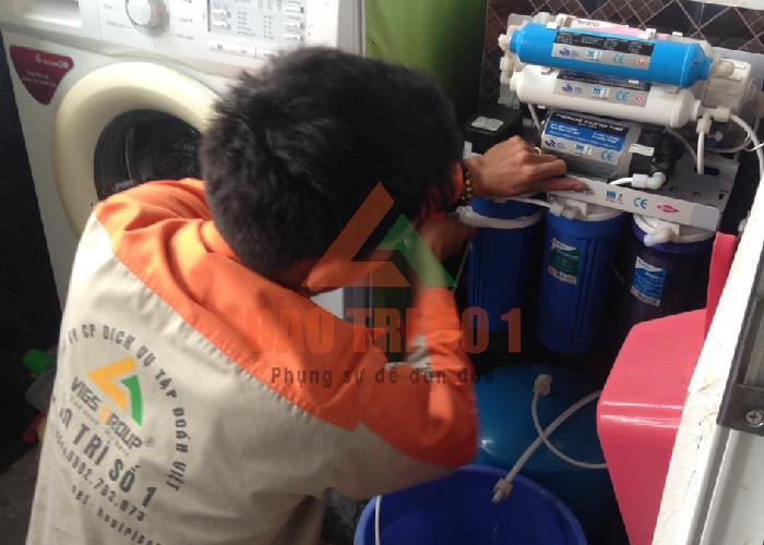cách sửa máy lọc nước không ra nước