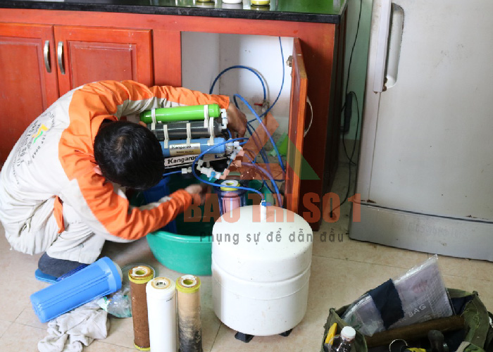 Cách sửa máy lọc nước RO