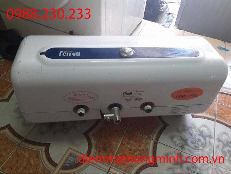bảo dưỡng bình nóng lạnh ferroli triệt để lỗi 100%