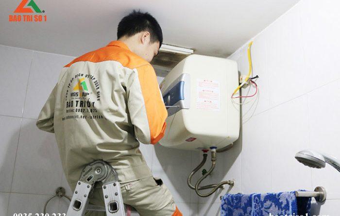 sửa bình nóng lạnh quận ba đình hà nội triệt để 100% lỗi